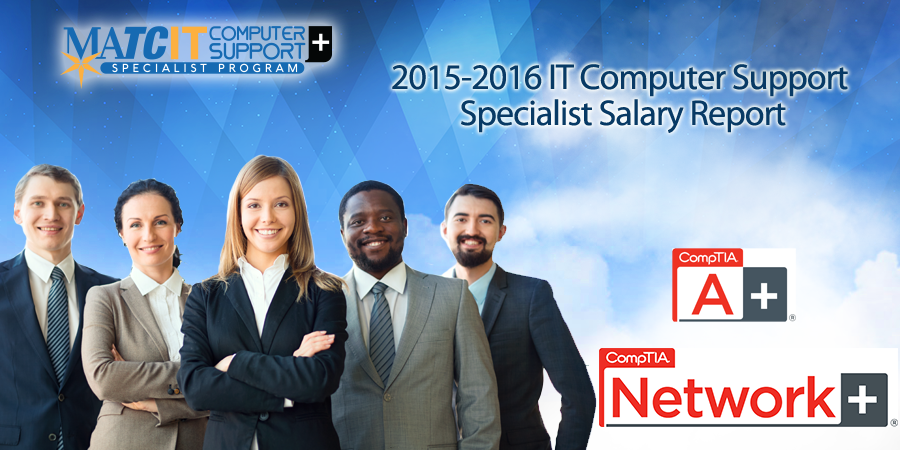 2015-2016 IT Computer Support Specialist Salary Report
