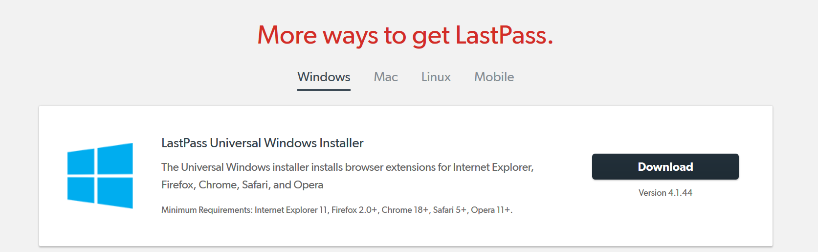 Lastpass For Safari Mac 1