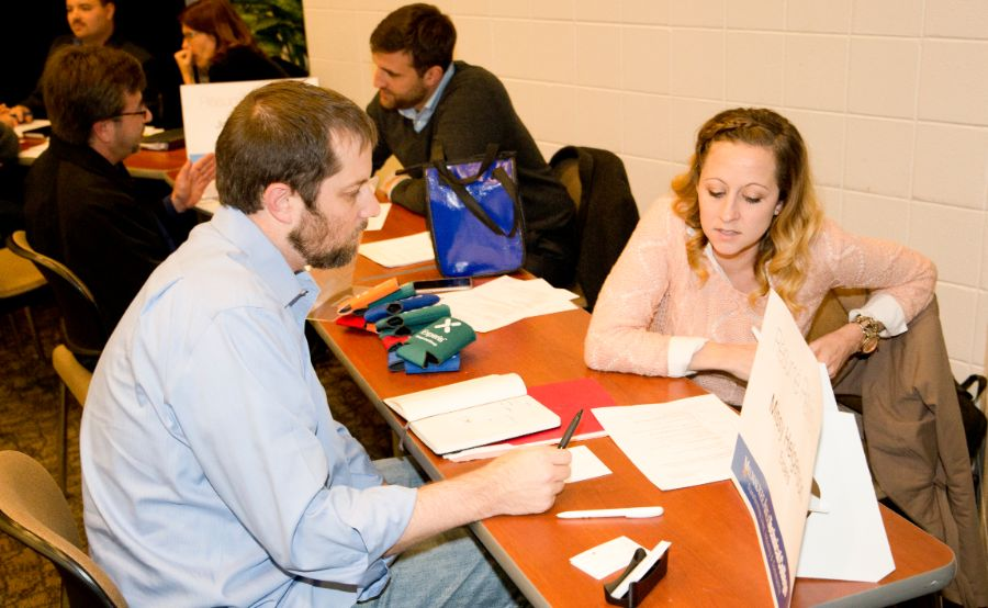 Great turnaout as part of 2nd Annual MATC IT Career Symposium at Oak Creek Campus